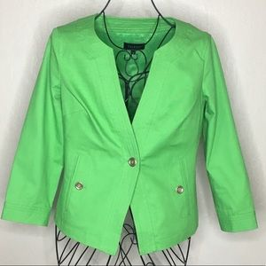 Talbots single button lined blazer #115